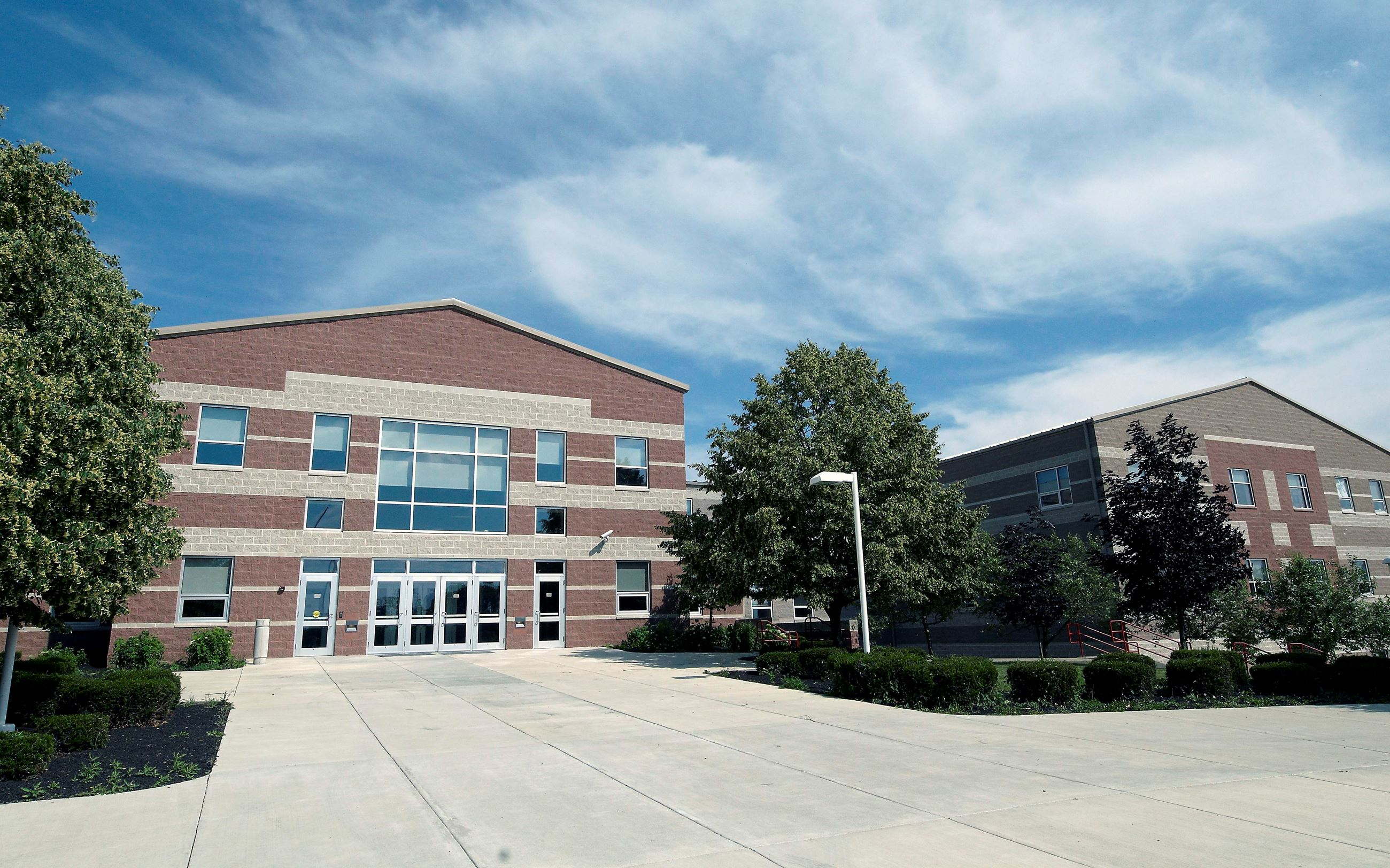 Exterior of Big Walnut High School